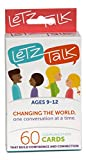 LetzTalk Conversation Starter and Question Cards - Builds Self-Esteem and Confidence - Ages 9-12