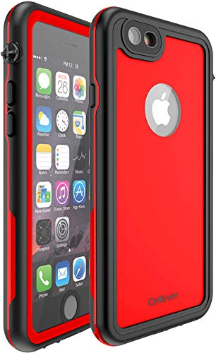 CellEver iPhone 6 Plus / 6s Plus Case Waterproof Shockproof IP68 Certified SandProof Snowproof Full Body Protective Cover Fits Apple iPhone 6 Plus (5.5