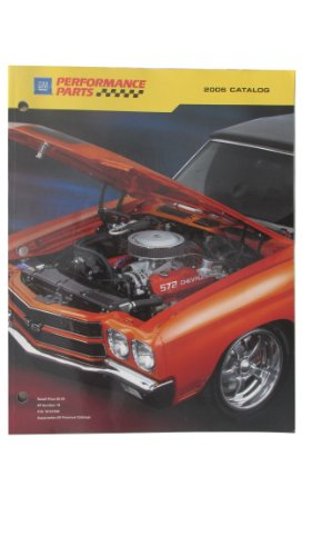 GM Performance Parts, 2006 Catalog (Flywheels Standard)