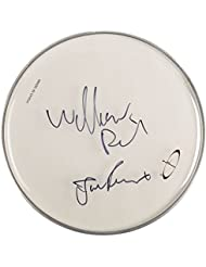 The Jesus and Mary Chain - Alternative Rock Band - Autographed Drumhead