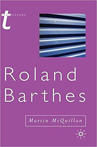 Book Roland Barthes (Transitions)
