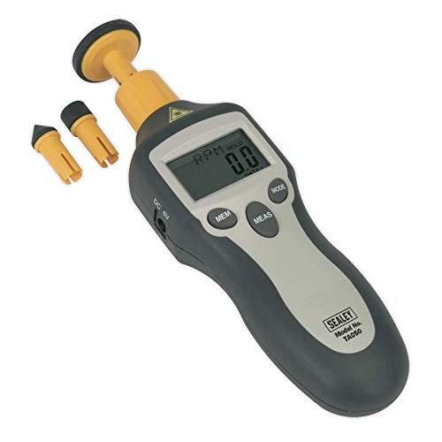 Sealey Digital Tachometer Contact/Non-Contact