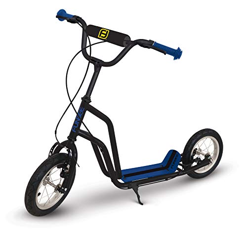 Funbee 12-Inch Cross Scooter with Inflatable Tires (Best Scooter For 5 Year Old Uk)