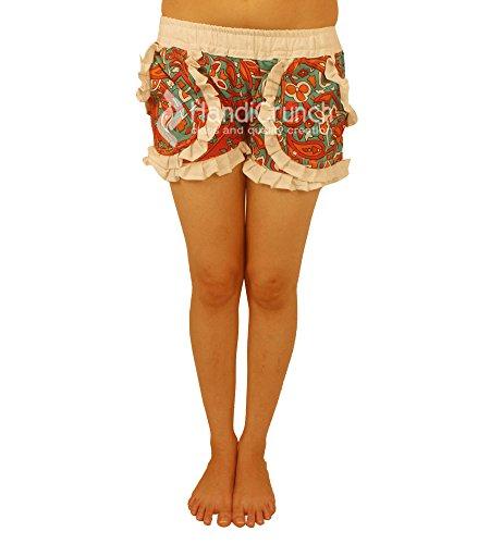 Mano Con Fatte Spiaggia A Donna Esportazioni Tasche Bagno Elasticizzati Stampati Da Pantaloncini ERvSxw1q