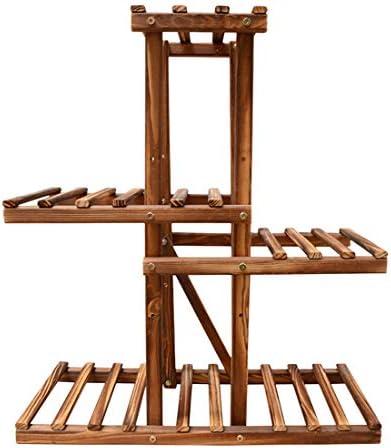 AMITAS - 5 maceteros de Madera para Interior, balcón, salón, Exterior, jardín, decoración, 70 x 60 x 25 cm: Amazon.es: Jardín