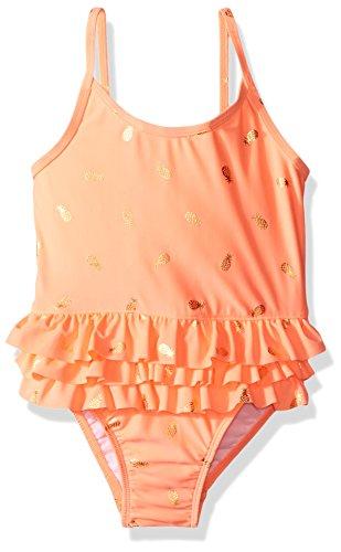 UPC 889705398007, The Children's Place Toddler Girls' Her Li'l 1-Piece Swimsuit, Coral Rocket Foil, 2T