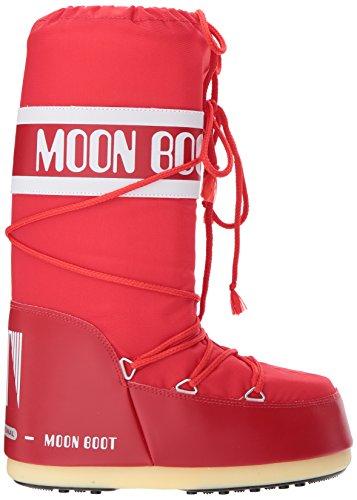 Neve Unisex Stivali Moon Adulto Boot Rosso 003 Nylon rosso Da qZwxxOR6PA