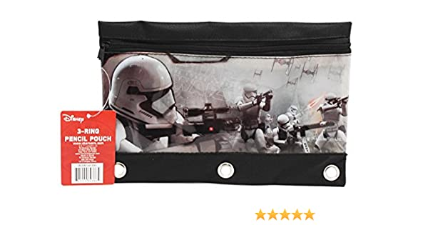 72760a2703 Amazon.com   Star Wars The Force Awakens Storm Trooper Battle Pencil Pouch    Office Products