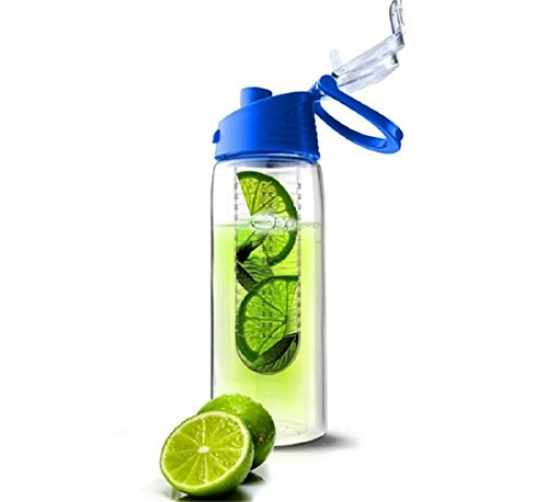 Fashion 701ml-800ml Flesh Fruit Infuser Infusing Water Bottle Sports Health Lemon Juice Make Bottle Cycling Camping Cup by B-BOAT