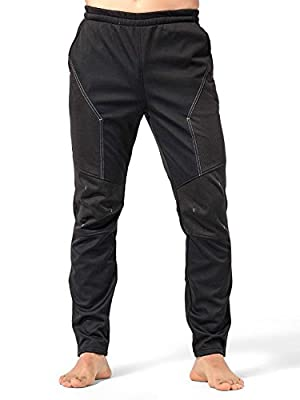 INBIKE Men's Winter Fleece Thermal Pants for Outdoor Multi Sports