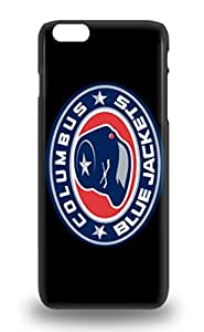 Fashion Design Hard 3D PC Case Cover NHL Columbus Blue Jackets Logo Protector For Iphone 6 Plus ( Custom Picture iPhone 6, iPhone 6 PLUS, iPhone 5, iPhone 5S, iPhone 5C, iPhone 4, iPhone 4S,Galaxy S6,Galaxy S5,Galaxy S4,Galaxy S3,Note 3,iPad Mini-Mini 2,iPad Air )