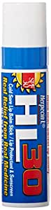 Herpecin-L Lip Balm Stick, 30 SPF, 0.1 Ounce, Cold Sore Sun & Fever Blisters and Chapped Lips Relief