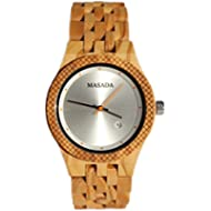 [Sponsored]Masada Wooden Wrist Lightweight Watch for Men Japanese Movement