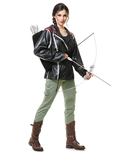 Archer Jacket Costume - Medium - Dress Size 8-10 (Hunger Games Costumes For Halloween)