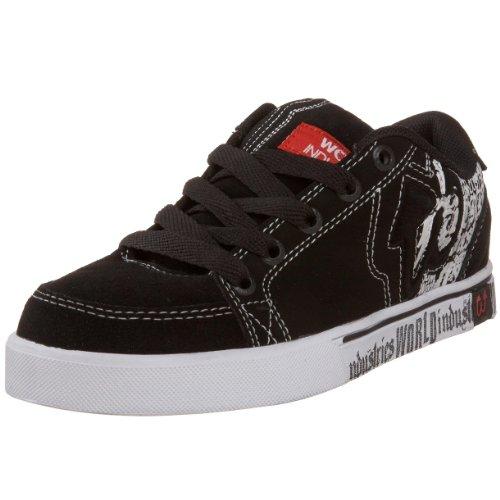 World Industries - zapatillas de skateboard niño - Black/white/red