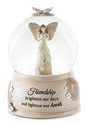 Pavilion Gift Company 19112 Friend Musical Water Globe with Angel Figurine, 6\