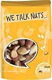 Farm Fresh Nuts ~ BRAZIL NUTS Freshly Roasted With Coconut Oil & Sprinkled Himalayan Salt.(1 pound)
