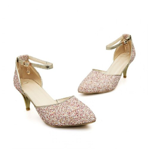 High Sequins Womens Red Shoes Heel Dress Foot Fashion Charm qZwxWS6f4x