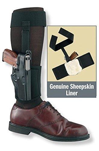- Gould & Goodrich Ankle Holster Plus Garter for Glock 43,Right Handed, Black