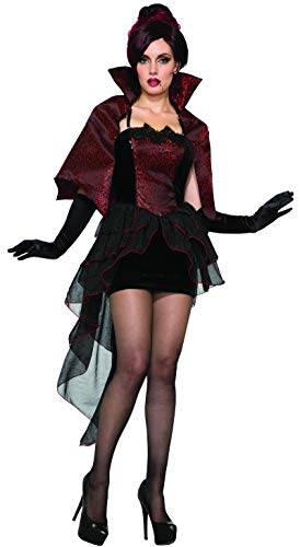 Forum Women's Vampire Seductress Adult Costume, as Shown, Medium/Large