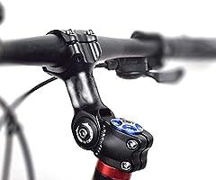 likeitwell Casquillo 31,8 90 mm 110 mm 0-60 Grado Ajustable Casquillo Manillar Corto Bicicleta de montaña conexión Manillar Corto para Bicicleta, Bicicleta de Carretera, MTB, BMX, Ciclismo: Amazon.es: Hogar