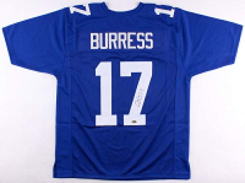 Plaxico Burress Autographed Signed Ny Giants Jersey - PSA/DNA Certified
