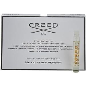 Creed Green Irish Tweed Millesime Splash for Men, Vial, Mini,0.08 Ounce