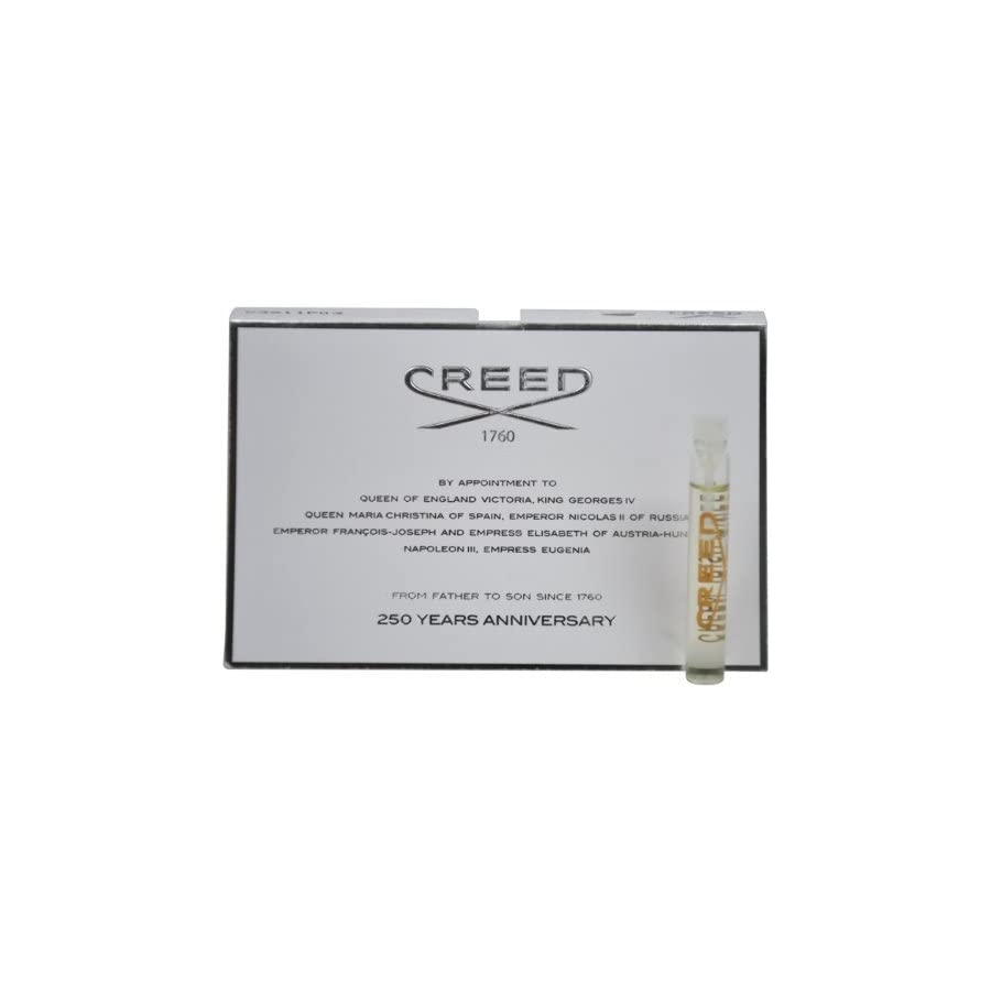 Creed Green Irish Tweed Millesime Splash for Men, Vial, Mini,0.08 Ounce