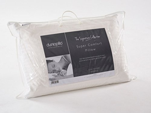 Dunlopillo Pillow - Super Comfort - Luxury Latex Filling - Hypoallergenic by Dunlopillo by Dunlopillo