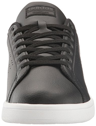 Clean Cloudfoam adidas Black Men's Black White Sneakers Advantage qCB1HtwT