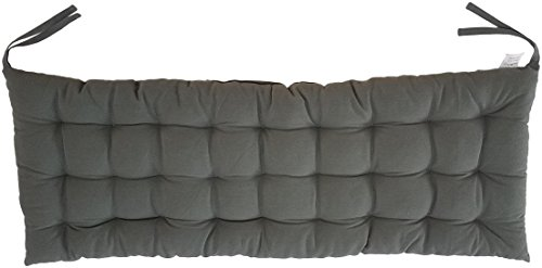 "Cottone 100% Cotton Bench Pads w/Ties | 58"" x 16""