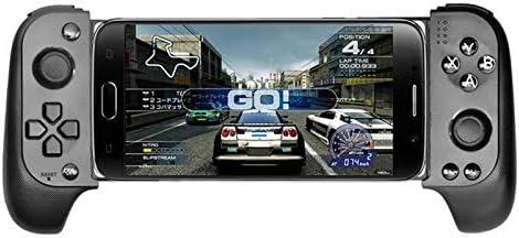 BEESCLOVER Controlador de Juegos Inalámbrico Bluetooth Gamepad Telescópico Joystick para Samsung Xiaomi Huawei Pc con Teléfono Android