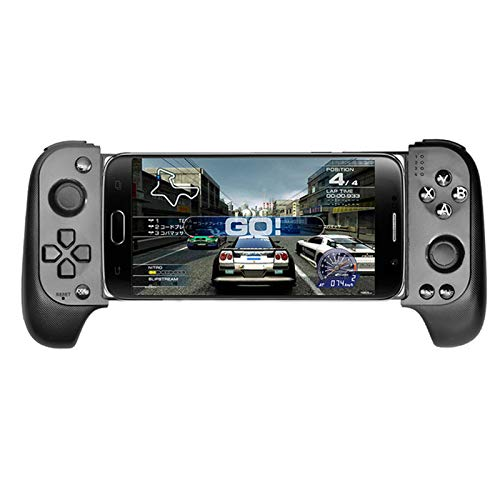 Aoile Wireless Bluetooth Game Controller Telescopic Gamepad Joystick for Samsung Xiaomi Huawei Android Phone PC Black