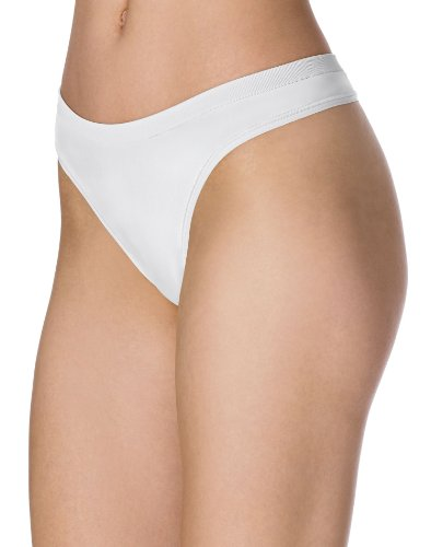(Barely There CustomFlex Fit Thong Panty - 2556 White)