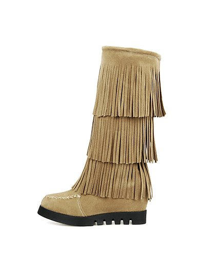 Uk8 Plataforma Ante 5 Vestido Nieve Redonda Mujer us10 De Uk6 Cn39 Zapatos Brown Brown Sintético Moda 5 Eu4 us8 Eu42 Casual Botas Punta La Eu39 Cn43 Xzz A qWTOtHP0w0
