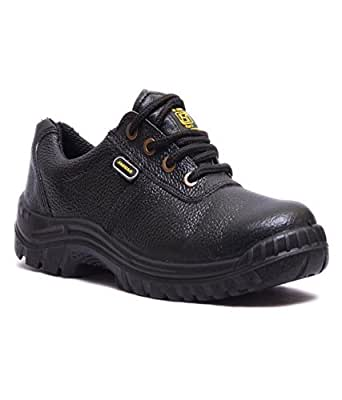 Hillson Jaguar ISI Marked Safety Shoe, Size-6 UK, Black
