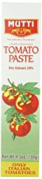 Mutti Italian Tomato Paste , 4.5-Ounce Packages (Pack of 6)