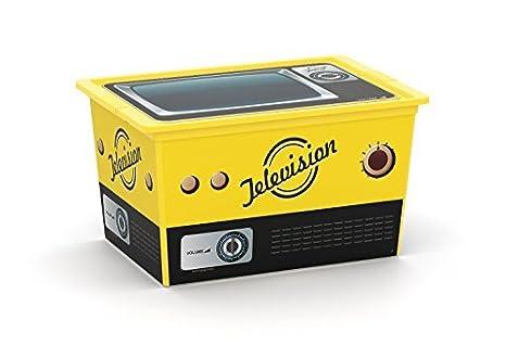 Caja de almacenamiento caja de 50 litros con tapa y ruedas para los zapatos, juguetes