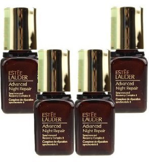 Estee Lauder Advanced Night Repair Synchronized Recovery Complex II Promo Size (Pack of 4, 7ml/0.24oz Each, 28ml/0.96oz Total) - Estee Lauder Night Repair Serum