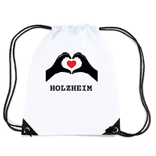 JOllify HOLZHEIM Turnbeutel Tasche GYM800 Design: Hände Herz