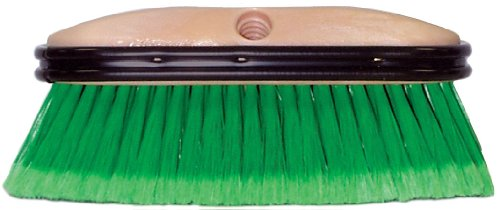 Weiler 73146 Polystyrene Vehicle Care Wash Brush , 2-1/2″ Head Width, 9-1/2″ Overall Length, Natural