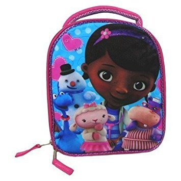 Doc Mcstuffins Lunch Box (Disney Doc McStuffin Lunch Bag w/ Super)