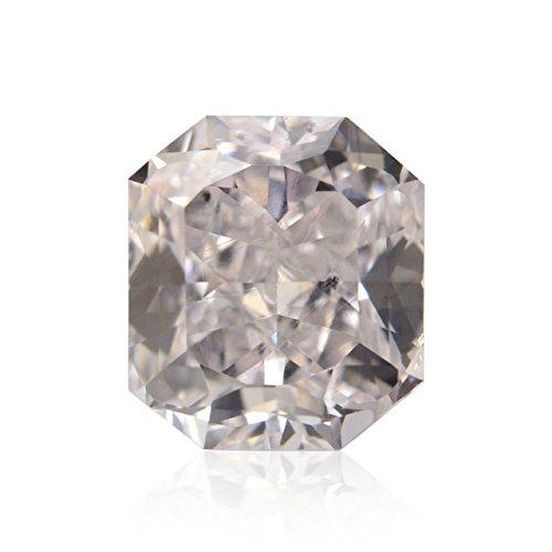 Diamond Radiant Loose Diamonds (0.27 Carat Faint Pink Loose Diamond Natural Color Radiant Cut GIA)