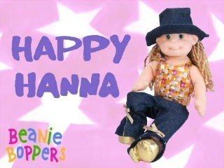 Ty Beanie Boppers: Happy Hanna