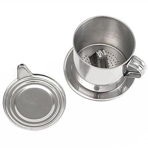 ONEVER C/ápsulas de caf/é Taza de caf/é de acero reutilizable para K-Fee Caffitaly con cepillo de limpieza de cuchara de pl/ástico Anillos de silicona