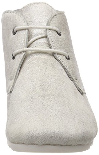 Femme Maruti Argenté Silver Bottines Hairon Q26 Leather Ginny Misty IwzT1wq