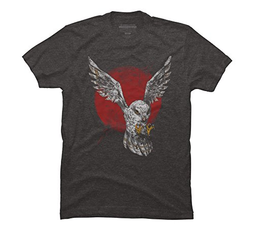 - The Predator Men's Medium Charcoal Heather Graphic T Shirt - Design By Humans