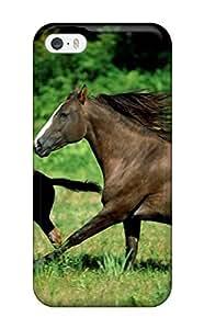 Cute Appearance Cover/tpu CviaZsi7006cOnVl Horse Picture Case For Iphone 5/5s