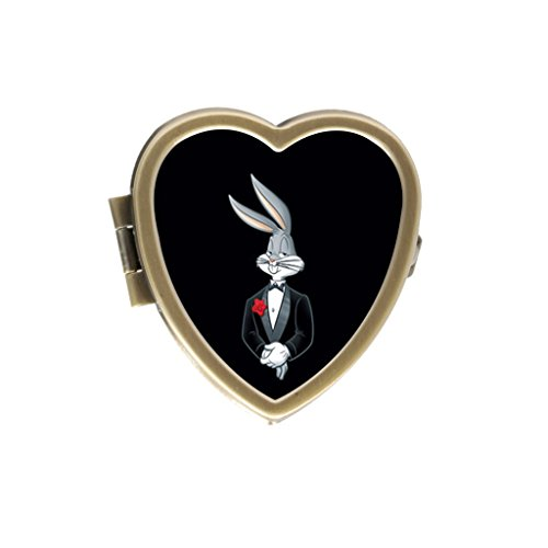bugs-bunny-stylishly-convenient-stainless-steel-heart-pill-box-decorative-gift-case