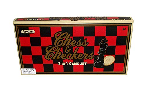 (Schylling Chess & Checkers 2 in 1 Game)